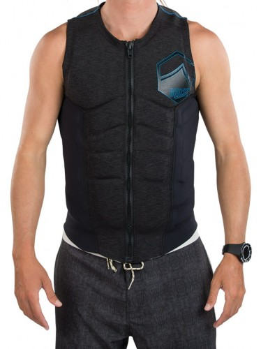 KAMIZELKA WAKEBOARD LIQUID FORCE GHOST COMP COAL/BLUE VEST