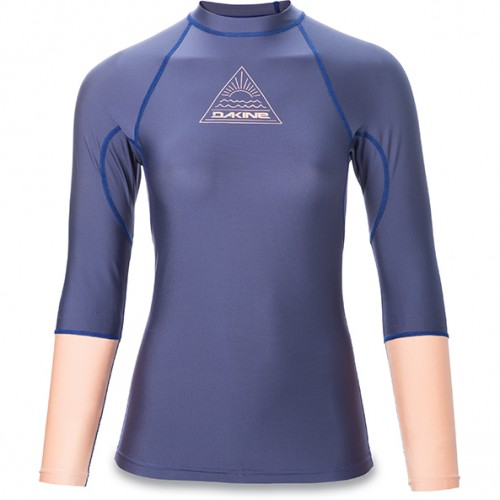 LYCRA DAKINE WOMEN`S FLOW SNUG FIT L/S CROWN BLUE