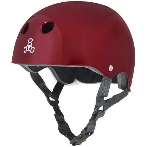 KASK TRIPLE8 RED METALLIC